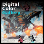 Comic digital color gallery